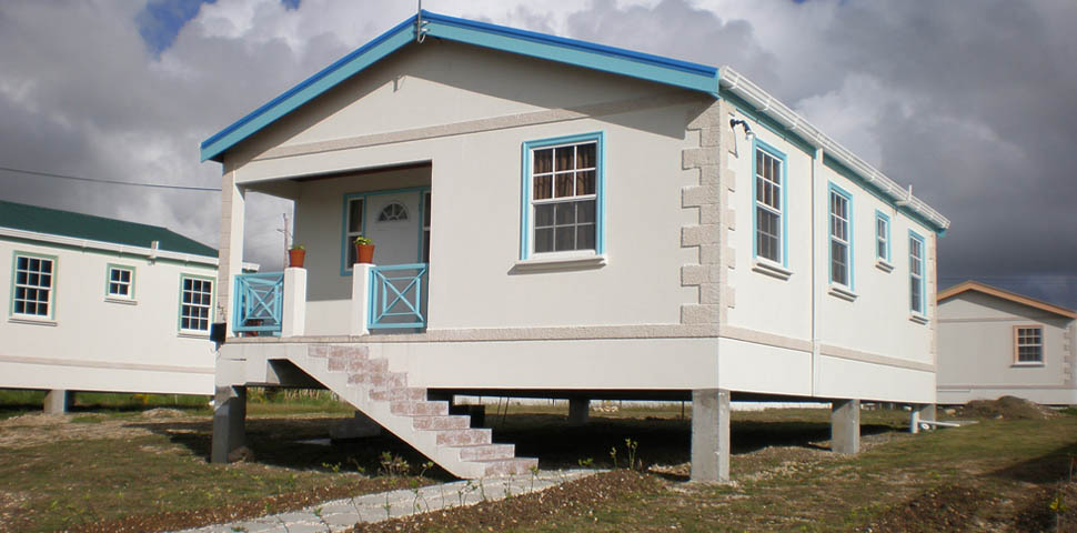 Affordable income houses middle income houses for 3 bedroom caribbean house plans