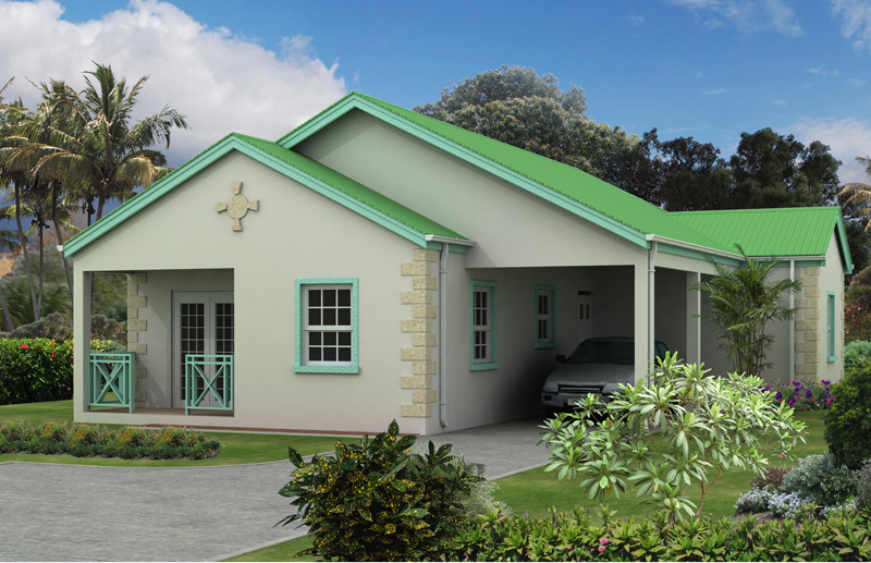 Clarendon caribbean homes limited for Caribbean home designs