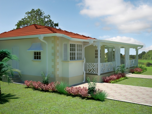 Sage caribbean homes limited for Caribbean house plans