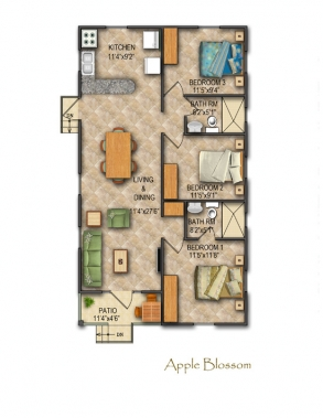 Apple Blossom Floor Plan
